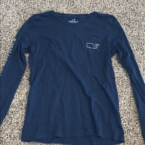Vineyard vines logo long sleeve
